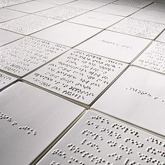 Imu Design: Braille tiles?