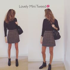 Mini tweed for your stylish Autumn