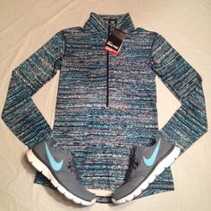 Nike Pro Dri Fit Stay Warm Pullover women Size: S •All offers are welcome •Brand new •Authentic ****sneakers available 5- 6.5*** Nike Tops Sweatshirts & Hoodies