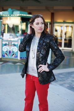 awesome blazer (alice + olivia)