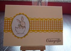 Karte, Hasenparade, Ostern, Stampin Up