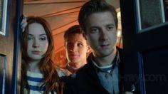 The power of three  Mes 3 préférés dans Doctor Who  Mon docteur préféré et mes compagnons préférés =) The Doctor, The Ponds (Rory The Roman and Amy The girl who waited)