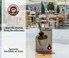 Hot chocolate. Location: Chocolate & Beans. Brasov. Romania. Piata Sfatului.