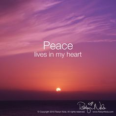 Peace ✌️ loves in my heart ❤️