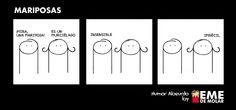 #humor #risas #mariposas