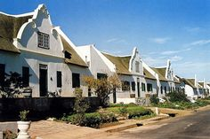 The picturesque street in Tulbagh, Western Cape, is home to 32 historical buildings -  the highest concentration in the country. Many of the buildings were  severely damaged in an earthquake in 1969, but have been restored in  an extensive restoration project. The whole of the restored street has  been declared a national monument.