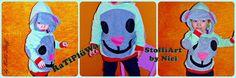 nell's lovely handmade stuff: RaTiPlüWa... Donald Duck, Disney Characters, Fictional Characters, Handmade, Art, Cute Christmas Gifts, Art Background, Hand Made, Kunst
