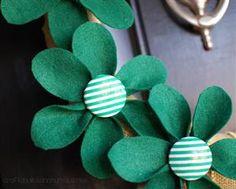 St. Patrick's Day Wreath TUTORIAL