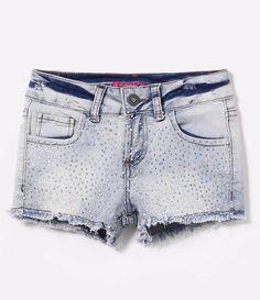 Short Infantil em Jeans com Strass - Tam 1 a 4 anos   - Lojas Renner
