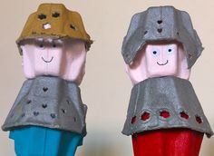 egg carton knights