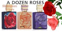 If you love roses or flowers you are in for a treat with A Dozen Roses Fragrance Collection! www.cosmeticdesires.com  #fragrance #roses #perfumes #beauty