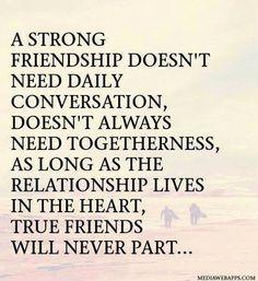 Sandt venskab