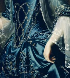 """Mrs. Daniel Sargent (Mary Turner)"" (1763) (detail) by John Singleton Copley (1738-1815)."