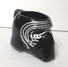 new STAR WARS KYLO REN MASK MUG Sculpted Ceramic Black Coffee Cup Force Awakens #Zak
