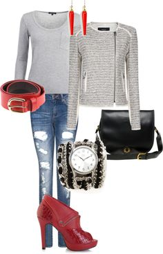 """Errands in the city"" by rissygirl on Polyvore"