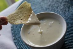 The BEST Queso Dip---great queso dip! Family approves!