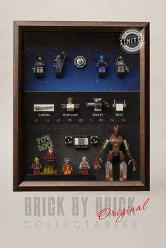 Lego Guardians of The Galaxy Minifigure Custom Display Case All Inclusive | eBay