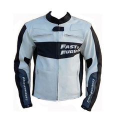 TWO FAST & FURIOUS 7 LEATHER JACKET Vin Desil