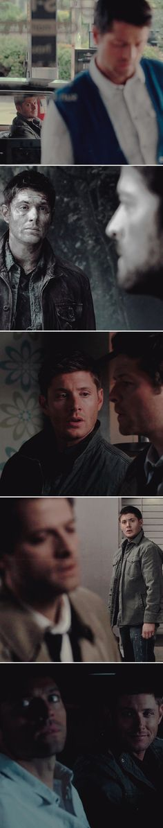 Dean stares at Cas like an adorable idiot in love