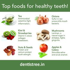Food Ingredients Which Could Improve Your Smile++