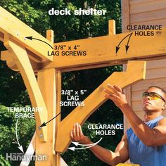 How to Shade your Deck   The Family Handyman