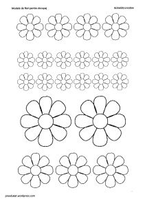 model floare14 Flower Template, Mothers Day Crafts, Floral Illustrations, Silhouette Design, Flower Crafts, Origami, Diy And Crafts, Kids Rugs, Templates