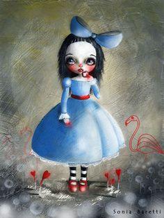 Sonia Baretti Illustrations: Alice nel paese delle meraviglie
