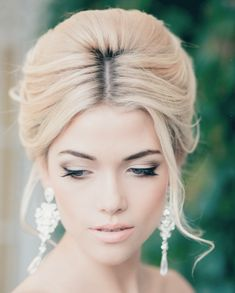 30 Creative and Unique Wedding Hairstyle Ideas - kinda want my hair up..