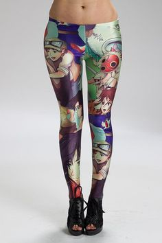 The Studio Ghibli Leggings Feature All Your Favorite Characters Read more at http://fashionablygeek.com/approved-products/the-studio-ghibli-leggings-feature-all-your-favorite-characters/#cLJwcOTuf25yT3HU.99