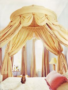♜ Shabby Castle Chic ♜ rich and gorgeous home decor - canopy