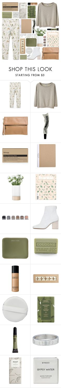 """THE TIP OF MY TONGUE"" by glowing-eyes ❤ liked on Polyvore featuring MANGO, Acne Studios, Modalu, Aesop, LSA International, Forever 21, Maison Margiela, Under Cover, Branche d'Olive and Bare Escentuals"