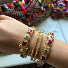Long Haaram Indian-Indian Wedding Jewelry-American Diamond Indian Jewelry-Necklace Set with Earrings in Changeable Gold - - Gold Bangles Design, Gold Earrings Designs, Gold Jewellery Design, Gold Jewelry, Gold Bracelets, Jewelry Accessories, Indian Jewelry Sets, Indian Wedding Jewelry, Bridal Bangles