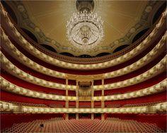 Montecarlo Monaco, World Theatre, Theater, Interior Work, Opus, Munich Germany, Artwork Display, Concert Hall, Photo Displays
