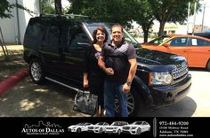 https://flic.kr/p/HACAN7 | Happy Anniversary to Mark on your #Land Rover #LR4 from David Stewart at Autos of Dallas! | deliverymaxx.com/DealerReviews.aspx?DealerCode=L575