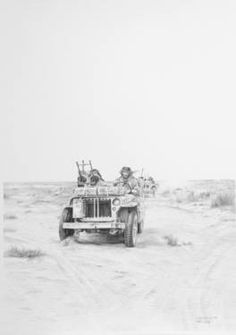 Special Air Service E021341 Special Air Service, Lawrence Of Arabia, Buy Prints, North Africa, My Drawings, Wwii, United Kingdom, The Past, Explore