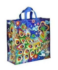 BlueQ Peacock Shopper