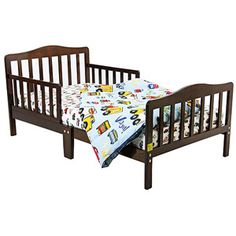 Dream On Me Classic Toddler Bed, Espresso