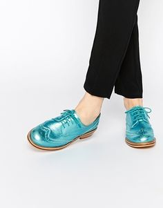 ASOS MORAL Leather Brogues
