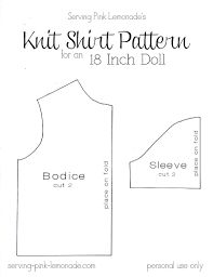 "Image result for 18"" doll pattern"