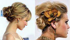 Acconciature estate 2012: i capelli raccolti più trendy