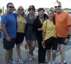 Some of our staff at The Bike Ride for Amy Foundation Dentistry, Amy, Foundation, Bike, Bicycle, Bicycles, Dental, Foundation Series