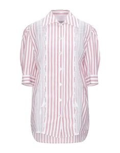 SANDRO Lace shirts & blouses. #sandro #cloth Red Blouses, Shirt Blouses, Lace Shirts, Sandro, World Of Fashion, Sportswear, Short Sleeves, Tunic Tops, Mens Tops