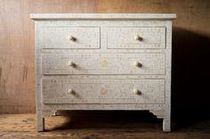 Ethically Sourced Bone Inlay Dresser - Dressers - Shop Nectar - 1