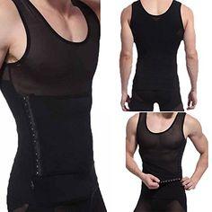 Franato Damen Shapewear Top Body Shaper Tank Bauchweg Stretch Control Weste