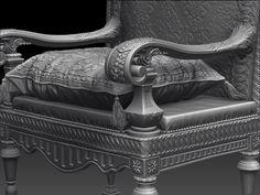 ArtStation - 3D World Mag - Cardinal de Richelieu 3D portrait breakdown , Ognyan Zahariev