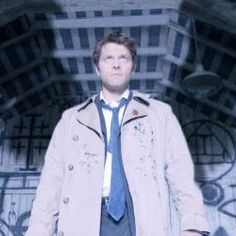 Castiel portrayed by Misha Collins in the hit TV series Supernatural