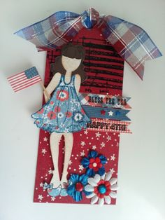 Julie Nutting 4th of July Tag