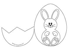 Easter Card Template With Easter Eggs  Google   Easter
