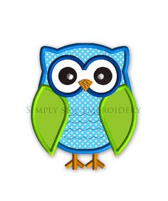 Hey, I found this really awesome Etsy listing at http://www.etsy.com/listing/107230881/owl-2-applique-machine-embroidery-design