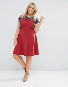 ASOS Curve | ASOS CURVE Jersey Basic Pinafore Dress